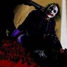 Batman The Dark Knight Joker Quotes Print POSTER 32x24