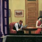 Edward Hopper Room In New York Fine Art Print 32x24