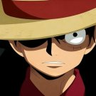 One Piece Luffy Print POSTER 32x24