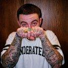 Mac Miller New Tattoos Rap Music Print Large POSTER 32x24