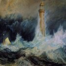 J M W Turner A Stormy Sea And A Lighthouse Fine Art Print 32x24
