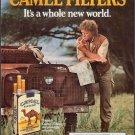 Vintage Camel Filters Cigarette Smoking Ad Art Print 32x24