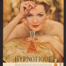 Vintage Max Factor Perfume Ad Art Print 32x24
