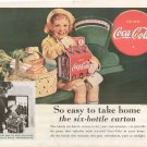 Vintage COCA COLA Ad Art Print 32x24