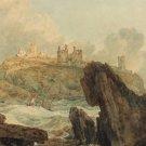J M W Turner Dunstanburgh Castle Fine Art Print 32x24