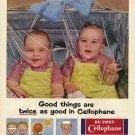 Vintage Du Pont Cellophane Ad Art Print 32x24