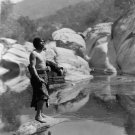 Native Indian Quiet Waters Tule River Reservation Yokuts PHOTO 32x24
