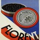Vintage French Florrent Print 32x24
