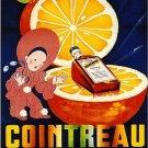 Vintage French Cointreau Liqueur Poster Print 32x24