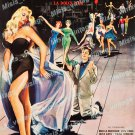 La Dolce Vita 1959 Vintage Movie Poster Reprint 18