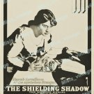The Shielding Shadow 1916 Vintage Movie Poster Reprint