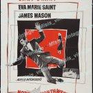 North By Northwest 1959 Vintage Movie Poster Reprint 36