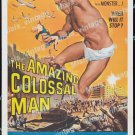 The Amazing Colossal Man 1957 Vintage Movie Poster Reprint 2