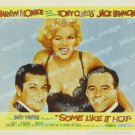 Some Like It Hot 1959 Vintage Movie Poster Reprint 35