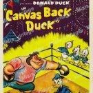 Canvas Back Duck 1953 Vintage Movie Poster Reprint 2