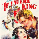 If I Were King 1938 Vintage Movie Poster Reprint