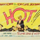 Some Like It Hot 1959 Vintage Movie Poster Reprint 34