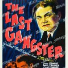 The Last Gangster 1937 Vintage Movie Poster Reprint 2