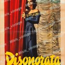 Dishonored Lady 1948 Vintage Movie Poster Reprint