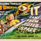 It Came From Outer Space 1953 Vintage Movie Poster Reprint 19