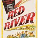Red River 1948 Vintage Movie Poster Reprint 6
