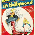 Abbott And Costello In Hollywood 1945 Vintage Movie Poster Reprint