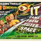 It Came From Outer Space 1953 Vintage Movie Poster Reprint 18