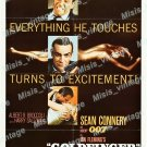 Goldfinger 1964 Vintage Movie Poster Reprint 49