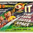 It Came From Outer Space 1953 Vintage Movie Poster Reprint 17