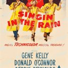 Singin In The Rain 1952 Vintage Movie Poster Reprint 19