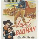 Angel And The Badman 1947 Vintage Movie Poster Reprint 6