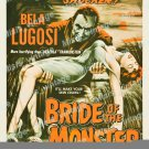 Bride Of The Monster 1956 Vintage Movie Poster Reprint 9