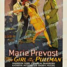 The Girl In The Pullman 1927 Vintage Movie Poster Reprint