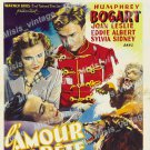 The Wagons Roll At Night 1941 Vintage Movie Poster Reprint
