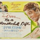 It S A Wonderful Life 1946 Vintage Movie Poster Reprint 33