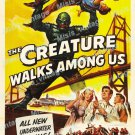 The Creature Walks Among Us 1956 Vintage Movie Poster Reprint 14