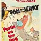 Puttin On The Dog 1951 Vintage Movie Poster Reprint 2
