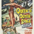 Queen Of Outer Space 1958 Vintage Movie Poster Reprint 4