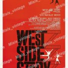 West Side Story 1961 Vintage Movie Poster Reprint 2