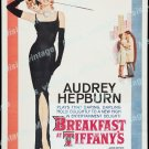 Breakfast At Tiffany S 1961 Vintage Movie Poster Reprint 31