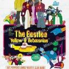 Yellow Submarine 1968 Vintage Movie Poster Reprint 26
