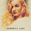 Veronica Lake Personality Poster 1944 Vintage Movie Poster Reprint 4