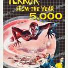 Terror From The Year 5000 1958 Vintage Movie Poster Reprint 2