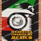 Il Carrera Panamericana Mexico Travel Poster 1951 Vintage Movie Poster Reprint