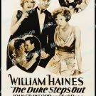 The Duke Steps Out 1929 Vintage Movie Poster Reprint
