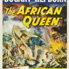 The African Queen 1952 Vintage Movie Poster Reprint 22