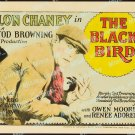 The Black Bird 1926 Vintage Movie Poster Reprint