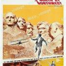 North By Northwest 1966 Vintage Movie Poster Reprint 25