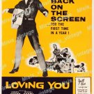 Loving You 1959 Vintage Movie Poster Reprint 5