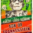 Son Of Frankenstein 1953 Vintage Movie Poster Reprint 38